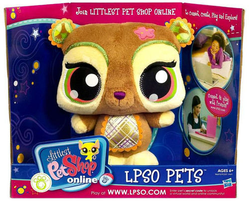 Littlest Pet Shop Online LPSO Pets Bear Plush