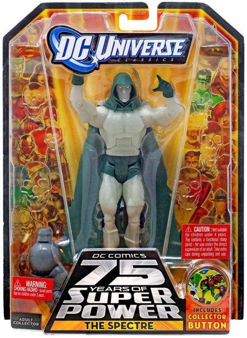DC Universe 75 Years of Super Power Classics Darkseid Series The Spectre Action Figure [Glow In The Dark]