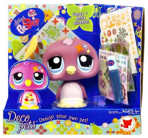 Littlest Pet Shop Deco Pets Penguin Figure