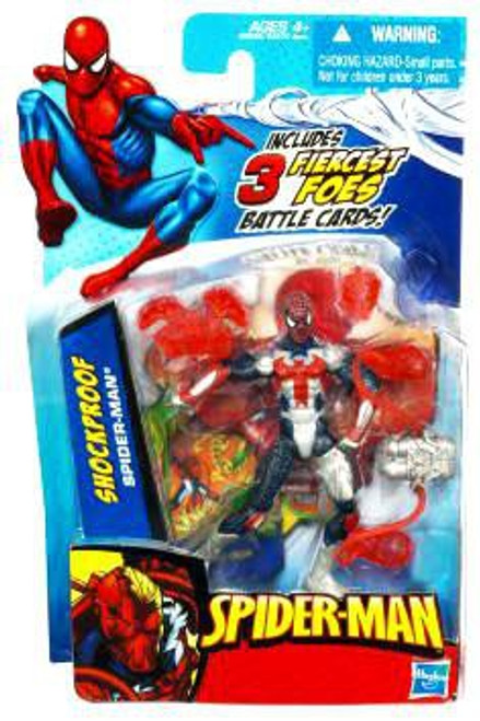 2010 Shock Proof Spider-Man Action Figure