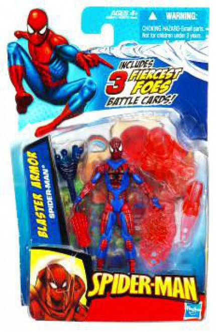 2010 Blaster Armor Spider-Man Action Figure