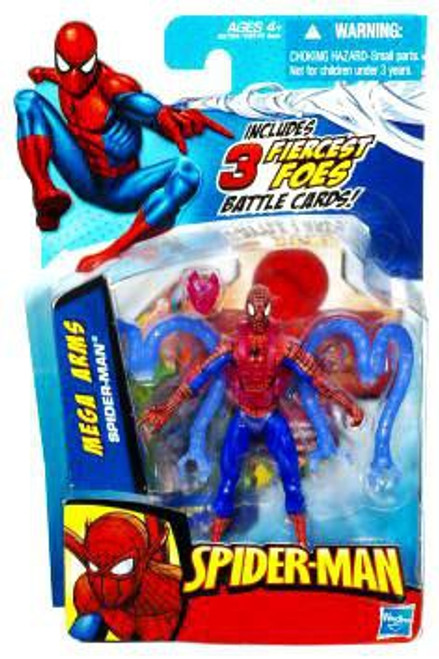 2010 Mega Arms Spider-Man Action Figure
