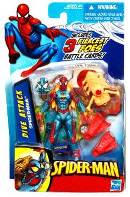 2010 Dive Attack Spider-Man Action Figure