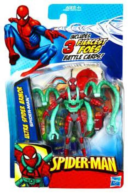 2010 Ultra Spider Armor Spider-Man Action Figure