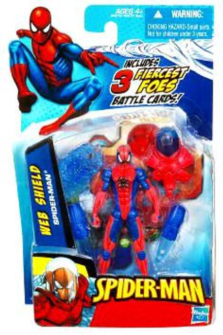 2010 Web Shield Spider-Man Action Figure