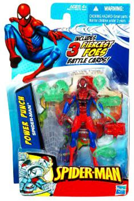 2010 Power Punch Spider-Man Action Figure