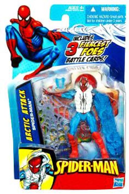 2010 Arctic Attack Spider-Man Action Figure