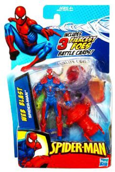 2010 Web Blast Spider-Man Action Figure