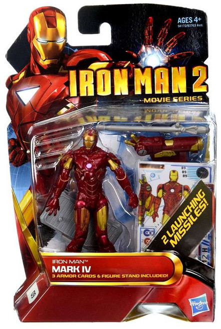 Iron Man 2 Movie Series Iron Man Mark IV Action Figure #9