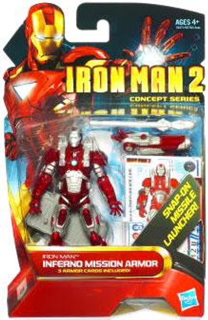 Iron Man 2 Concept Series Inferno Mission Iron Man Action Figure #13