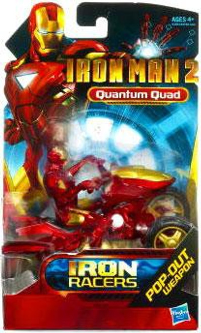 Iron Man 2 Iron Racers Quantum Quad Action Figure