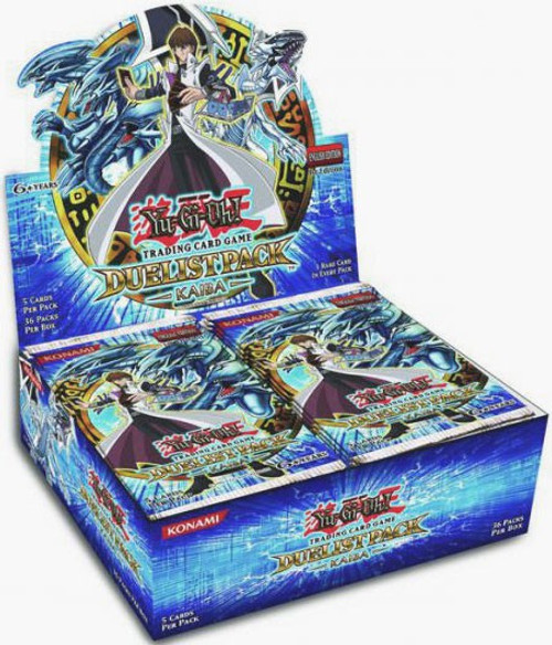 YuGiOh Trading Card Game Duelist Pack Kaiba (1st Edition) Booster Box [36 Packs]