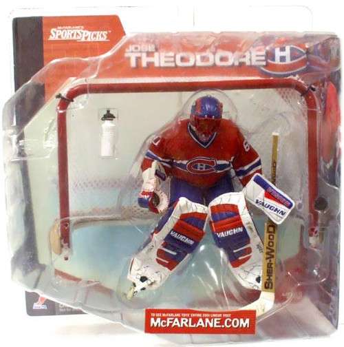 McFarlane Toys NHL Montreal Canadiens Sports Picks Series 1 Jose Theodore Action Figure