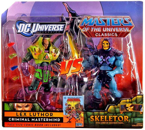 DC / Masters of the Universe Classics Club Eternia Skeletor Vs. Lex Luthor Exclusive Action Figures