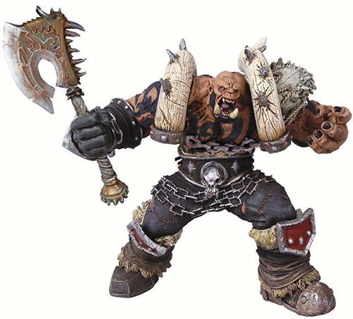 World of Warcraft Premium Series 3 Garrosh Hellscream Action Figure [Orc Warchief]