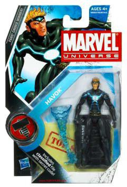 Marvel Universe Series 8 Havok Action Figure #18 [Modern Costume]