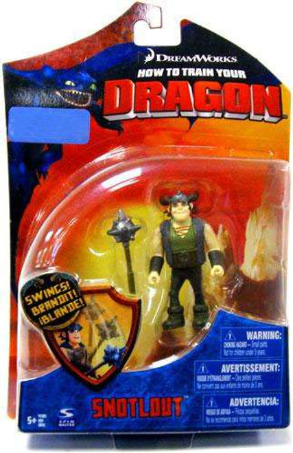 How to Train Your Dragon Snotlout Exclusive Action Figure