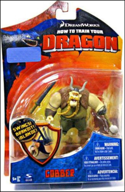 How to Train Your Dragon Series 1 Gobber Exclusive Action Figure