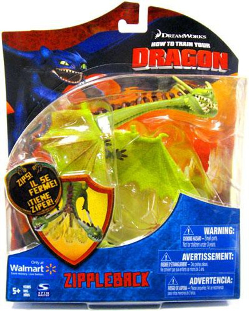 How to Train Your Dragon Series 1 Deluxe Zippleback Exclusive Action Figure