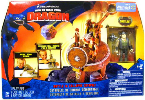 How to Train Your Dragon Battle & Collapse Catapult Exclusive [Snotlout]