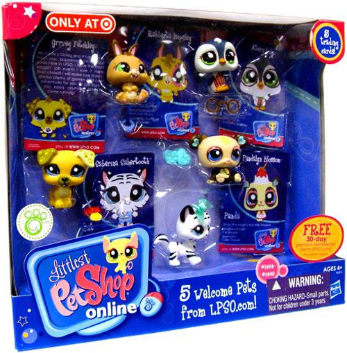 Littlest Pet Shop Online 5 Welcome Pets Exclusive Figure Set