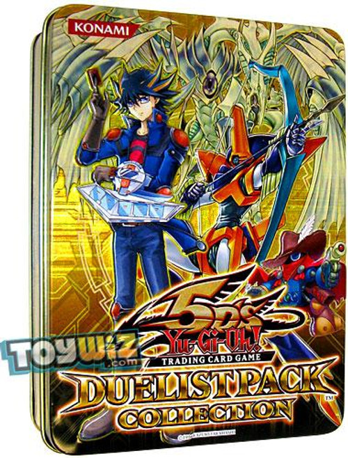YuGiOh 5D's 2010 Duelist Pack Exclusive Tin Set [Yellow]