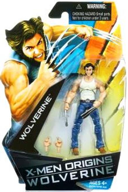 X-Men Origins Wolverine Movie Series Wolverine Action Figure [T-Shirt]