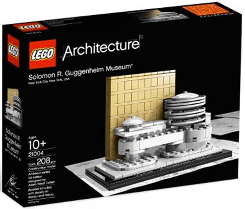 LEGO Architecture Solomon R. Guggenheim Museum Set #21004 [21004]