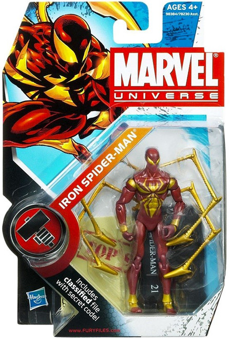 Marvel Universe Series 9 Iron Spider-Man Action Figure #21 [Solid]
