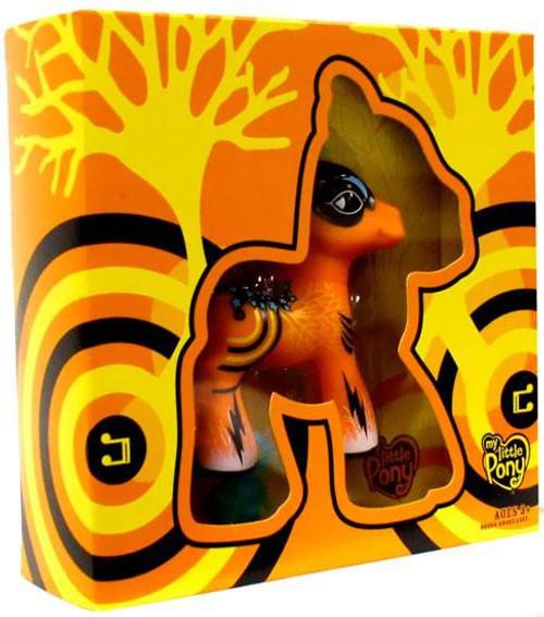My Little Pony Orange & Black Art Pony Figure