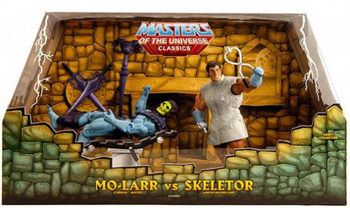Masters of the Universe Classics Mo-Larr vs. Skeletor Exclusive Action Figure 2-Pack