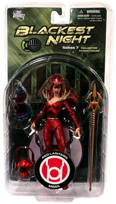 DC Green Lantern Blackest Night Series 7 Red Lantern Mera Action Figure