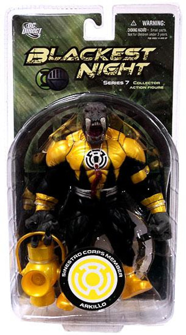 DC Green Lantern Blackest Night Series 7 Sinestro Corps Arkillo Action Figure