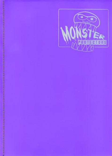Card Supplies Matte Purple 9-Pocket Binder