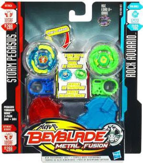 Beyblade Metal Fusion Pegasus Tornado Wing Attack 2-Pack BB28A