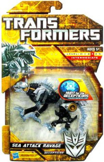 Transformers Hunt for the Decepticons Sea Attack Ravage Deluxe Action Figure