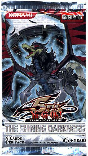 YuGiOh Trading Card Game The Shining Darkness Booster Pack [9 Cards]