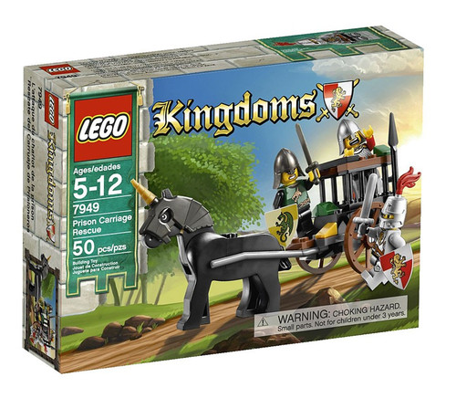 LEGO Kingdoms Prison Carriage Rescue Set #7949