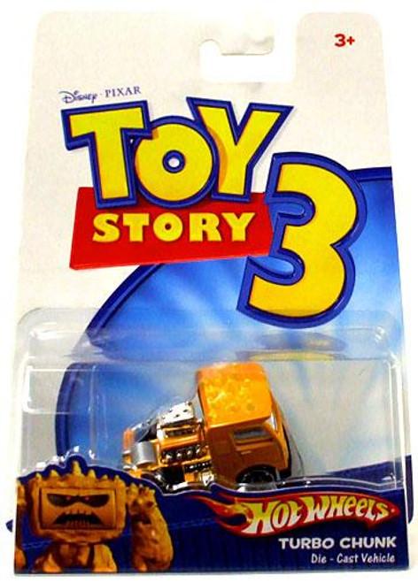 Toy Story 3 Hot Wheels Turbo Chunk Diecast Car