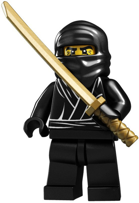 LEGO Minifigures Series 1 Ninja Minifigure [Loose]