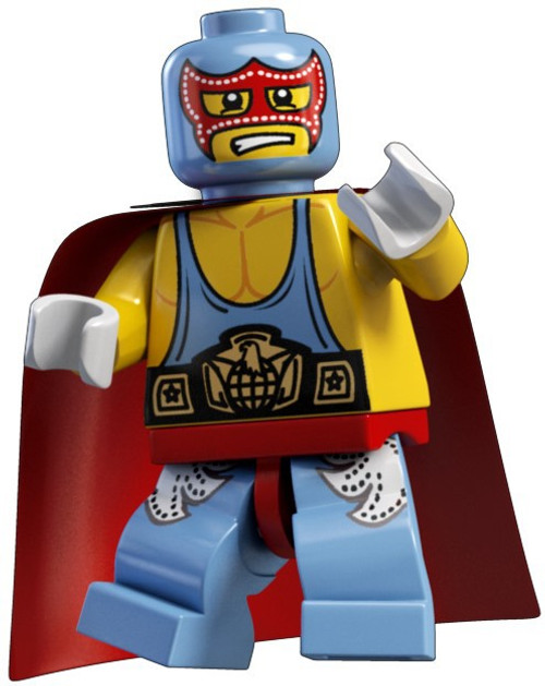 LEGO Minifigures Series 1 Super Wrestler Minifigure [Loose]