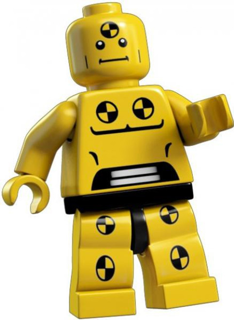 LEGO Minifigures Demolition Dummy Minifigure [Loose]