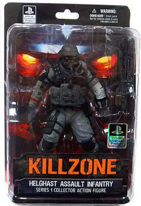 Killzone Series 1 Helghast Assault Infantry Action Figure