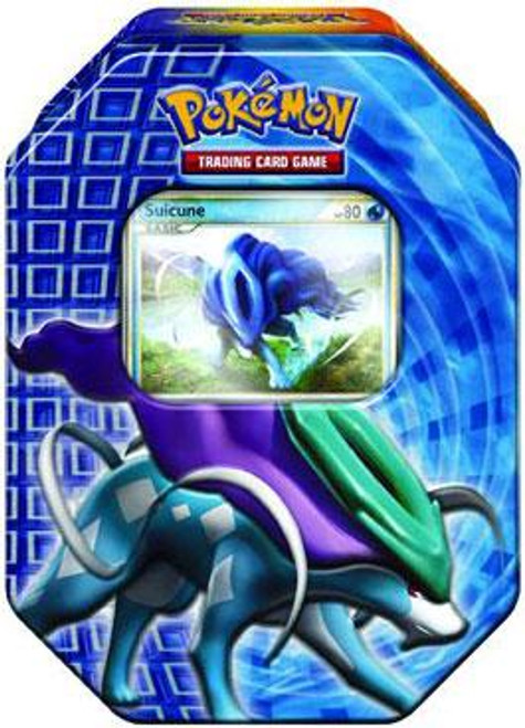 Pokemon Trading Card Game 2010 HeartGold & Soulsilver Suicune Tin Set