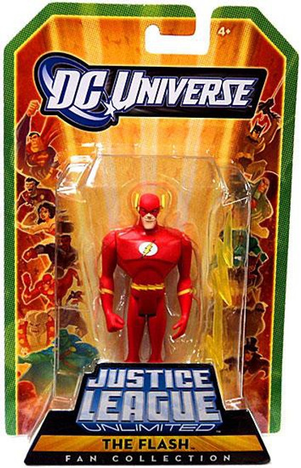 DC Universe Justice League Unlimited Fan Collection The Flash Action Figure [Barry Allen]