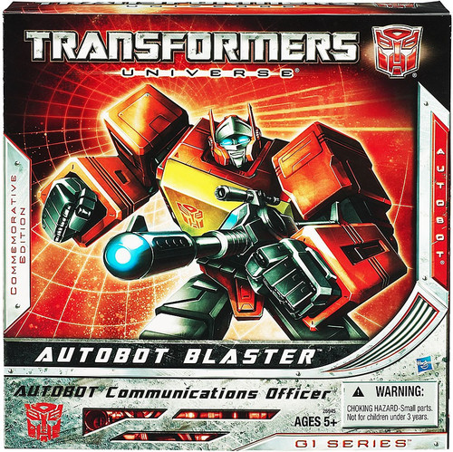 Transformers Autobot Blaster Exclusive Action Figure