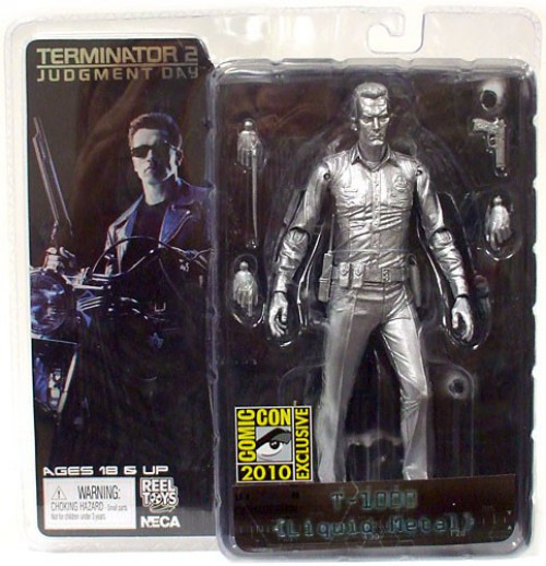NECA Terminator 2 Judgment Day T-1000 Exclusive Action Figure [Liquid Metal]