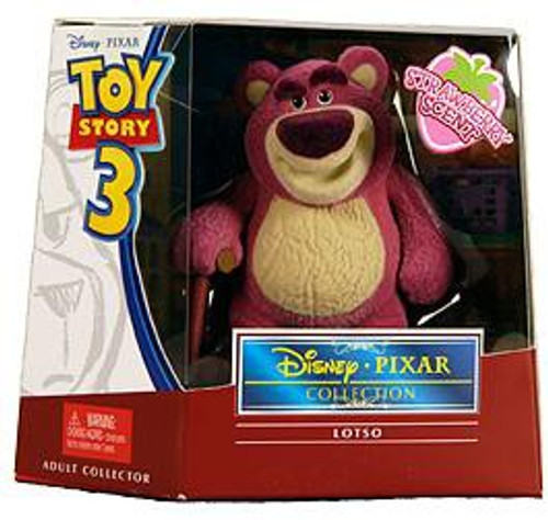 Toy Story Disney Pixar Collection Lotso Exclusive Action Figure [Flocked & Strawberry Scented]