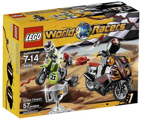 LEGO World Racers Snake Canyon Set #8896