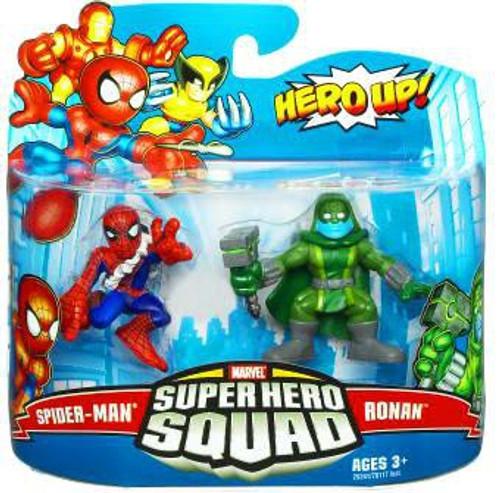 Marvel Super Hero Squad Series 19 Spider-Man & Ronan 3-Inch Mini Figure 2-Pack